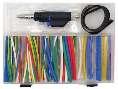Micro Gas Torch With 162 Heat Shrink Sleeves Welzh Werkzeug 5010-WW • 19.95£