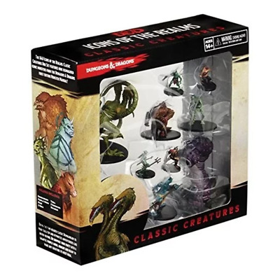 AU107.95 • Buy Dungeons & Dragons Icons Of The Realms Classic Creatures Box Set NEW