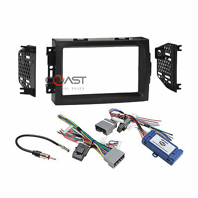 $89.95 • Buy Car Radio Stereo Dash Kit SWC Amplified Harness For 2005-08 Chrysler Dodge Jeep
