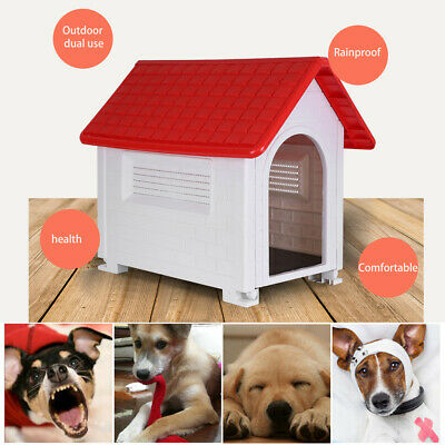 $63.17 • Buy Outdoor Dog House With Door Water Resistant Dog House For Large Sized