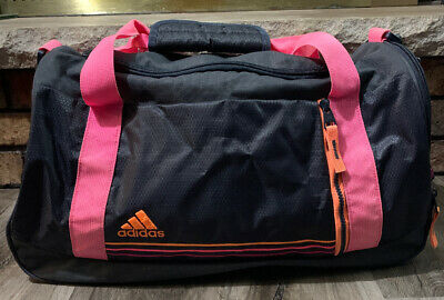 $19.99 • Buy Adidas Pink Gym Athleisure School Duffel Travel Shoulder Bag Backpack Laptop