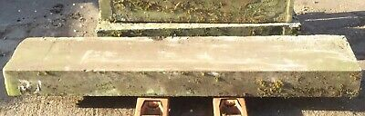 Reclaimed Salvage Solid Natural Yorkshire Stone Step Paving Lintel Square Edge C • 199.95£