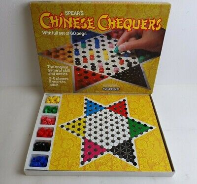 Vintage Retro Spears Chinese Chequers Peg Game 1982 Edition • 3.99£