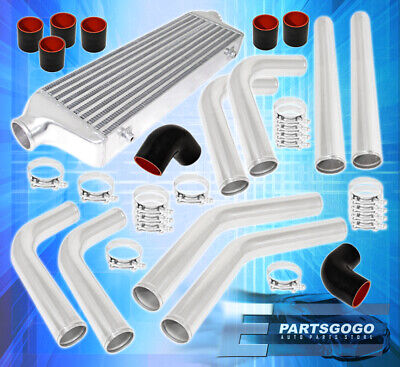 $ CDN190.31 • Buy Universal 2.5  Polished Aluminum Intercooler Piping Kit Coupler Tbolt Clamps
