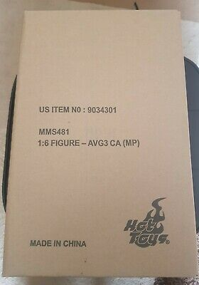 AU499 • Buy Hot Toys Captain America MMS 481 Movie Promo Edition Infinity War 1/6 Scale Fig