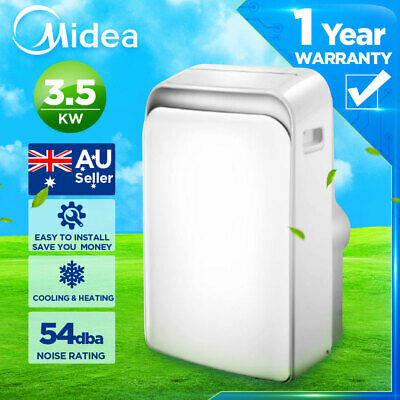AU659 • Buy MIDEA PORTABLE Cooling&Heating Air Conditioner(3.5kw) Refrigerated Summer Cooler