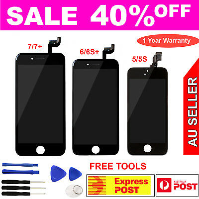 AU19.99 • Buy LCD Touch Screen Replacement Digitizer Assembly IPhone 8 7 Plus 6 6S 5 5s 5C