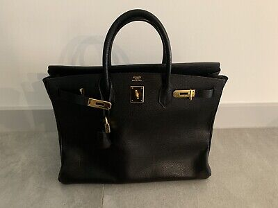 AU12500 • Buy Authentic Hermes Birkin 40 Ardennes Leather 2003