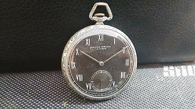$ CDN145.56 • Buy ANCRE PRIMA  WWII  40's  MILITARY 15 RUBIS VINTAGE RARE SWISS WATCH.