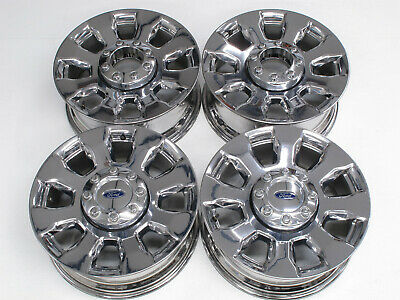 $789 • Buy 2017-2020 20  Oem Ford F-250 F-350 Superduty Factory Chrome Wheels