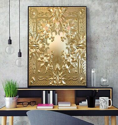 £11.99 • Buy Kanye West And Jay Z Watch The Throne Album Cover Poster Print HD A3 A4 Wall Art