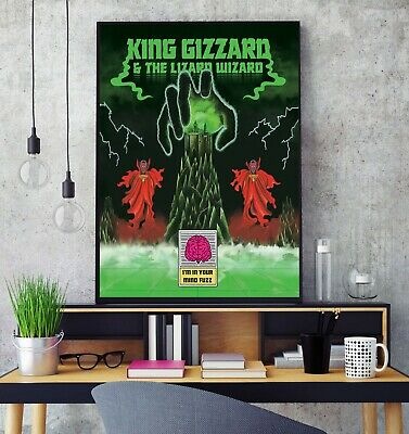 £11.99 • Buy King Gizzard And The Lizard Wizard I'm In Your Mind Fuzz Album Poster Print HD