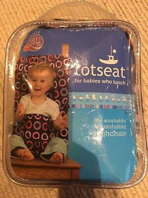 TOTSEAT -  Portable Baby Travel Highchair With BAG - Bramble - Feeding Seat • 5.90£