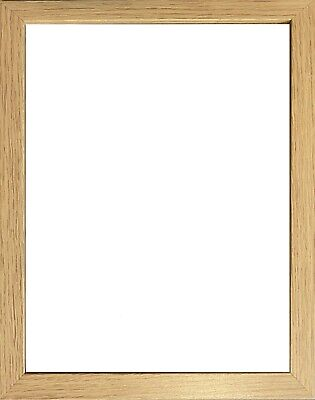 £2.99 • Buy A1 A2 A3 A4 A5 Oak Wood Wooden Effect Thin Picture Frame Photo Panoramic Frames