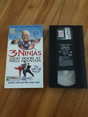 $ CDN19.97 • Buy 3 Ninjas - High Noon At Mega Mountain (VHS, 1998) Hulk Hogan