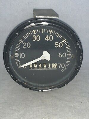 $270 • Buy Vintage Speedometer Jeep Ford Willys Army Military K-S 40904 A-N   KING-SEELEY