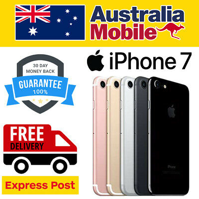 AU299 • Buy  APPLE IPhone 7 128GB UNLOCKED  Express Shipping & AU Warranty Smartphone