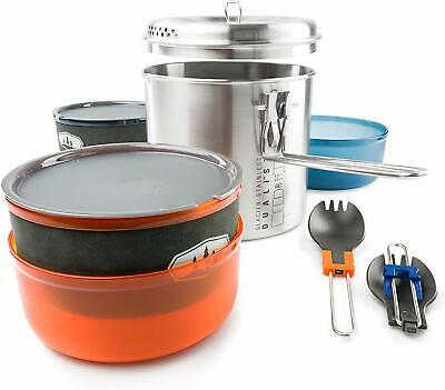£58.99 • Buy GSI Outdoors Glacier Stainless Dualist VII Camp Kitchen Set