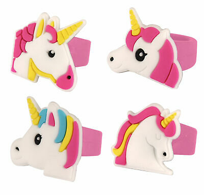 £3.49 • Buy 12 Unicorn Rings - Pinata Toy Loot/Party Bag Fillers Childrens/Kids