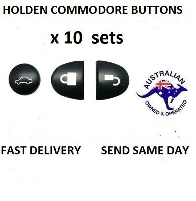 AU13 • Buy 10X Sets Key Remote Buttons Holden Commodore Key Buttons VS VT VX VY VZ WH WK WL