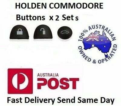 AU3.70 • Buy 2X Sets Key Remote Buttons Holden Commodore Key Buttons VS VT VX VY VZ WH WK WL