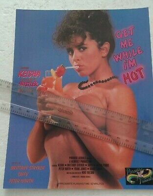 $ CDN25.14 • Buy Keisha In Get Me While I'm Hot Video Promo Ad Slick Poster