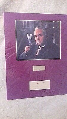£49.99 • Buy Harold Wilson Former Prime Minister Hand Signed 14 X 12 Inch Mounted Display