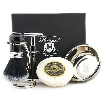 £11.99 • Buy Professional Mens Shaving Set Brass And Aluminum Handle Men's Cleaning Shave Kit