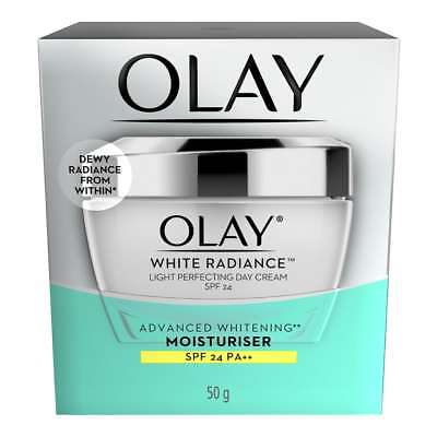 AU42.96 • Buy Olay White Radiance Light Perfecting Day Cream SPF 24 50 Grams