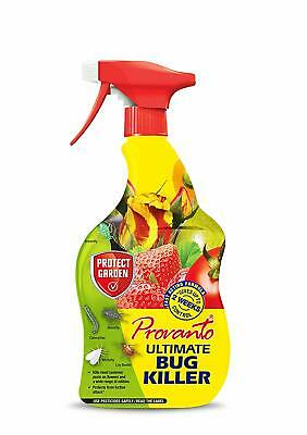 £10.49 • Buy Provanto Ultimate Bug Killer RTU 1L, Lily Beetle Whitefly Scale Greenfly, Thrips