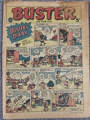 RARE! BUSTER Comic 15th December 1962 - Bruce Forsyth - British Weekly • 7.99£