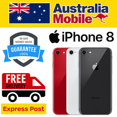 AU289 • Buy APPLE IPhone 8 256GB 64GB UNLOCKED 4G SMARTPHONE AS NEW EXCELLENT AU STOCKED