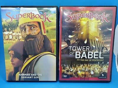 $ CDN42.99 • Buy Lot Of 4 Superbook DVDs, Christian Broadcasting Network, Family Faith Animated