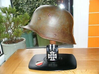 Ww1 German Helmet M17 Original Si 66 • 360£