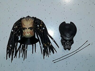 $ CDN201.71 • Buy Hot Toys 1/6 Original Celtic Predator Mms09 Loose Head Sculpt Bio Mask Rare!!!