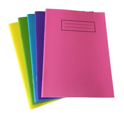 Silvine A4 - A5 Exercise Books School Notebooks 80 Pages Class Children Homework • 2.65£