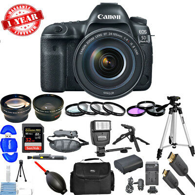 $ CDN4551.07 • Buy Canon EOS 5D Mark IV DSLR Camera With 24-105mm F/4L II Lens!! MEGA BUNDLE NEW!!
