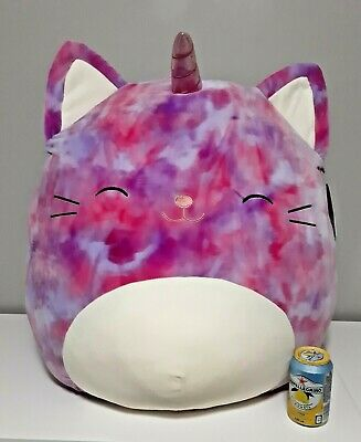 $ CDN110 • Buy Huge Squishmallows JUMBO XL Carla Therapie Caticorn 24   Kellytoy Big Girl New