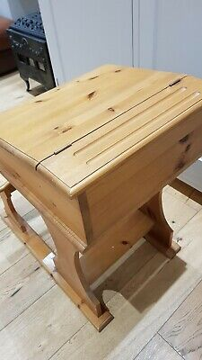 Childs School Desk And Seat - Pine  • 15.99£