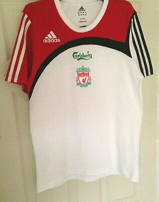 Liverpool,  LFC, Adidas, T-Shirt, 2007, 36/38, Pit To Pit 19 Inches • 6.99£