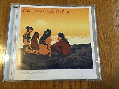 £3.99 • Buy Cafe Del Mar Vol Seis / 6 - 1 X Cd Unmixed Ibiza Chillout Deep House Cd