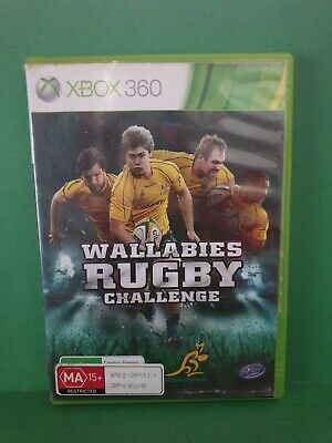 AU5.65 • Buy Wallabies Rugby Challenge (no Booklet) 🕹️Microsoft  XBOX 360 🕹️ FREE POST