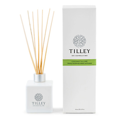 AU32.95 • Buy Tilley Reed Diffuser - Coconut & Lime - 150ML