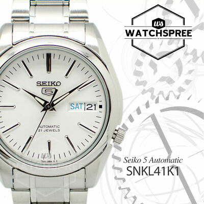 $ CDN126.06 • Buy Seiko 5 Automatic Watch SNKL41K1