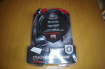 £19.99 • Buy NEW Call Of Duty Black Ops Headset Stealth Communicator For PS3 Playstatation 3