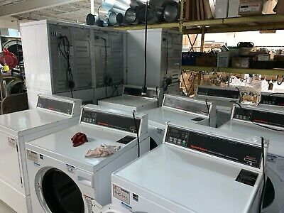 $7750 • Buy Used SpeedQueen Commercial Washers & Dryers -  Full Laundry Room Package