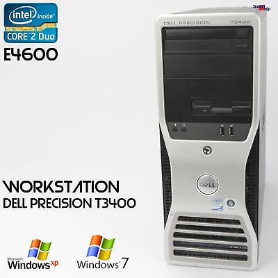 Pro Work Station Dell Precision T3400 Computer PC Parallel Lpt RS-232 500GB 2GB • 127.34£