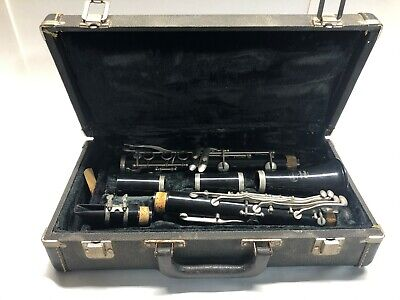 $69.99 • Buy Vintage Bundy Selmer Resonite Clarinet With Hard Carry Case