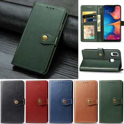 $ CDN8.50 • Buy Luxury Wallet Leather Flip Case Cover For Samsung S10 S9 S8 Plus A20 A10 A50 A30