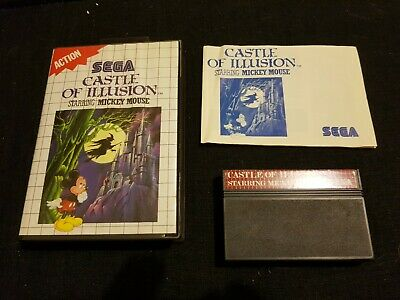 AU34.95 • Buy Sega Master System - Castle Of Illusion Starring Mickey Mouse